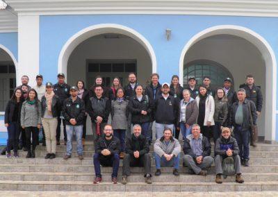 Participantes do Fórum durante o encontro em Caçador. Foto: Arquivo Apremavi.
