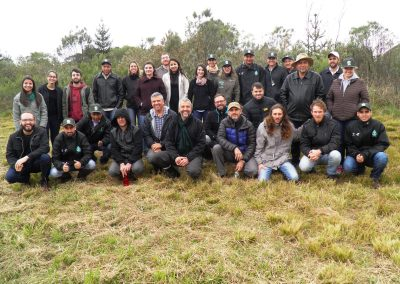 Participantes do Fórum durante a visita técnica na Embrapa. Foto: Marcos Alexandre Danieli.