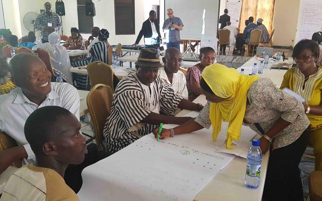 Diálogo do Uso do Solo realiza primeira reunião em Gana