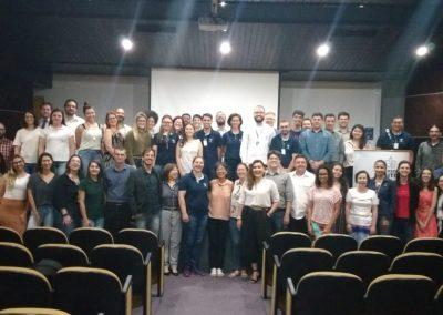 Participantes do Seminário Regional do Fórum PR e SC. Foto: Hevelyn Sato.