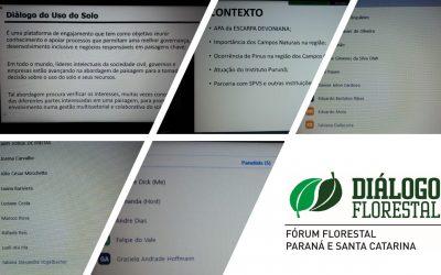 Fórum Florestal Paraná e Santa Catarina realiza plenária a distância