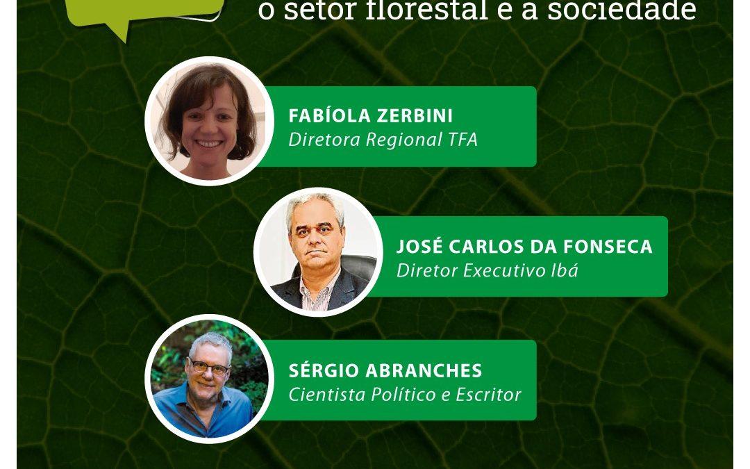 Série de lives 'Diálogos Florestais' irá promover a interação entre empresas e sociedade civil