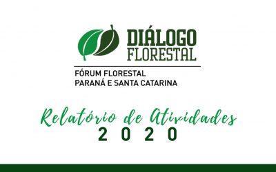 Fórum Florestal PR e SC divulga relatório anual de 2020