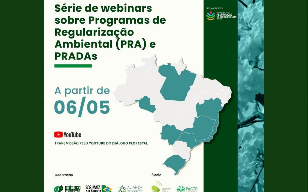 Seminários debatem implantação dos Programas de Regularização Ambiental