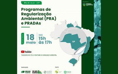 Diálogo Florestal debate implementação do Programa de Regularização Ambiental do Estado de São Paulo