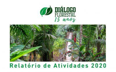 Diálogo Florestal publica Relatório Anual de 2020