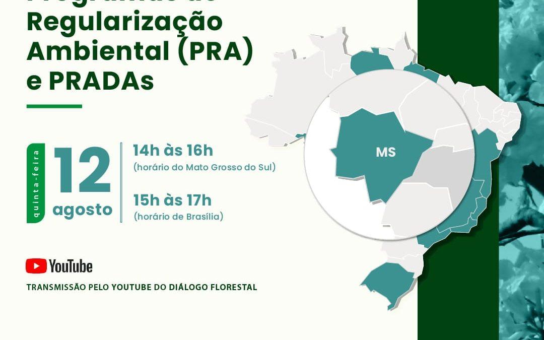 Evento discute implementação do PRA no Mato Grosso do Sul