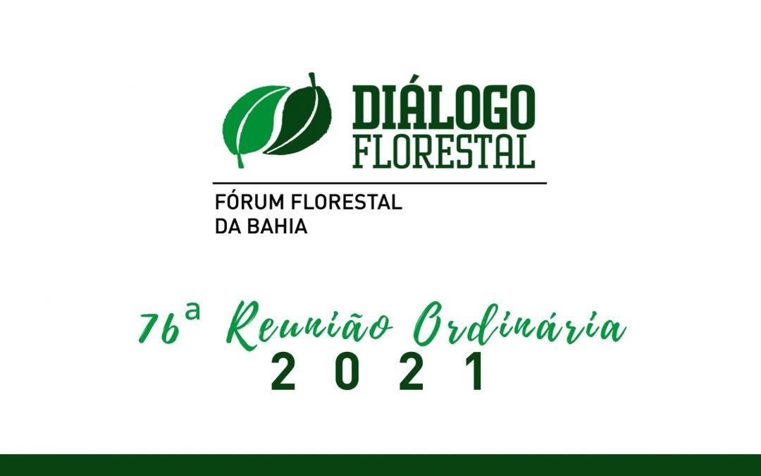 Fórum Florestal da Bahia realiza 76ª Reunião Ordinária