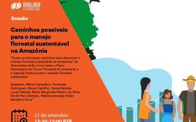 GLF Amazônia: conferência internacional discute o manejo florestal sustentável